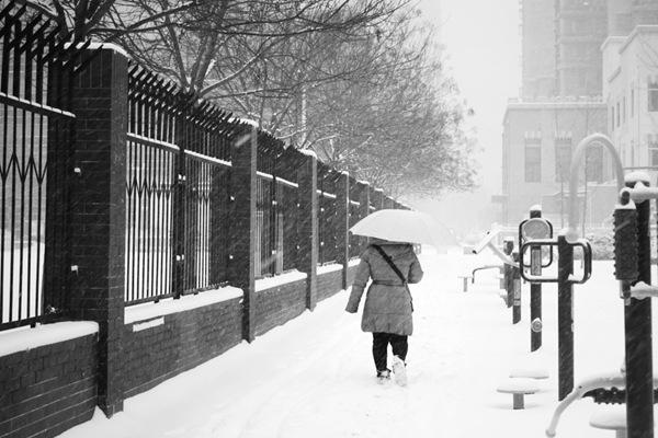 河北唐山秦皇岛降大到暴雪 两市所有高速关闭