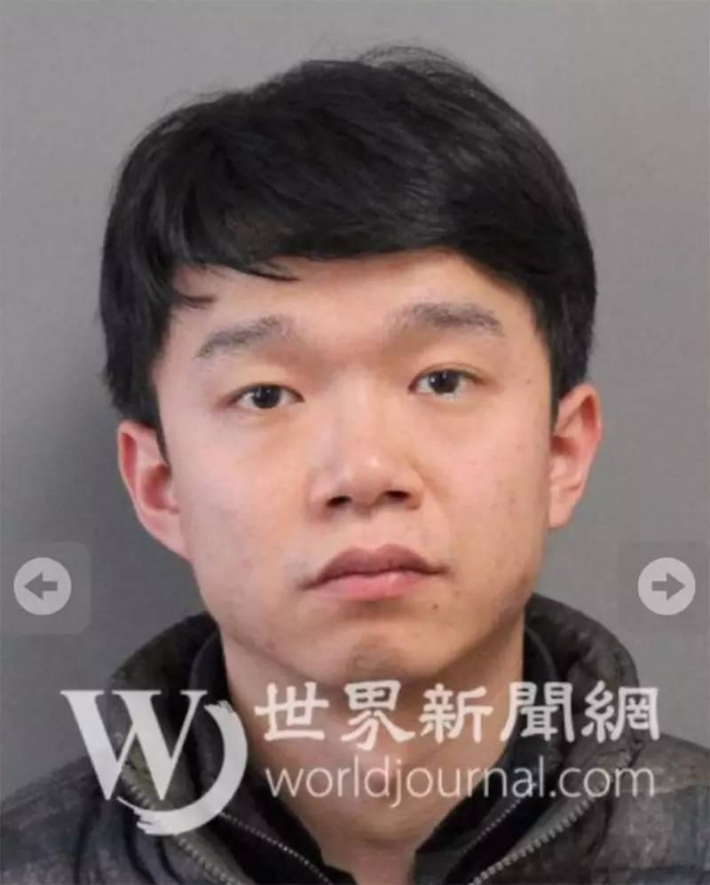 警方公布的唐爽被捕后照片
