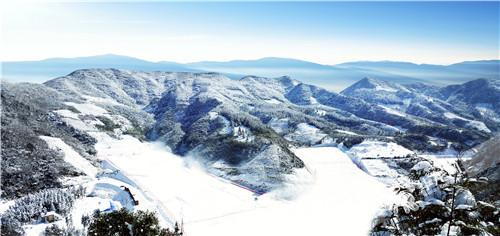石柱黄水白天池滑雪场24日开滑啦