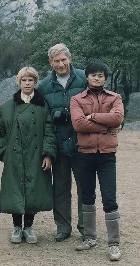 ▲澳大利亚之行后,马云邀请Morley一家回访杭州。