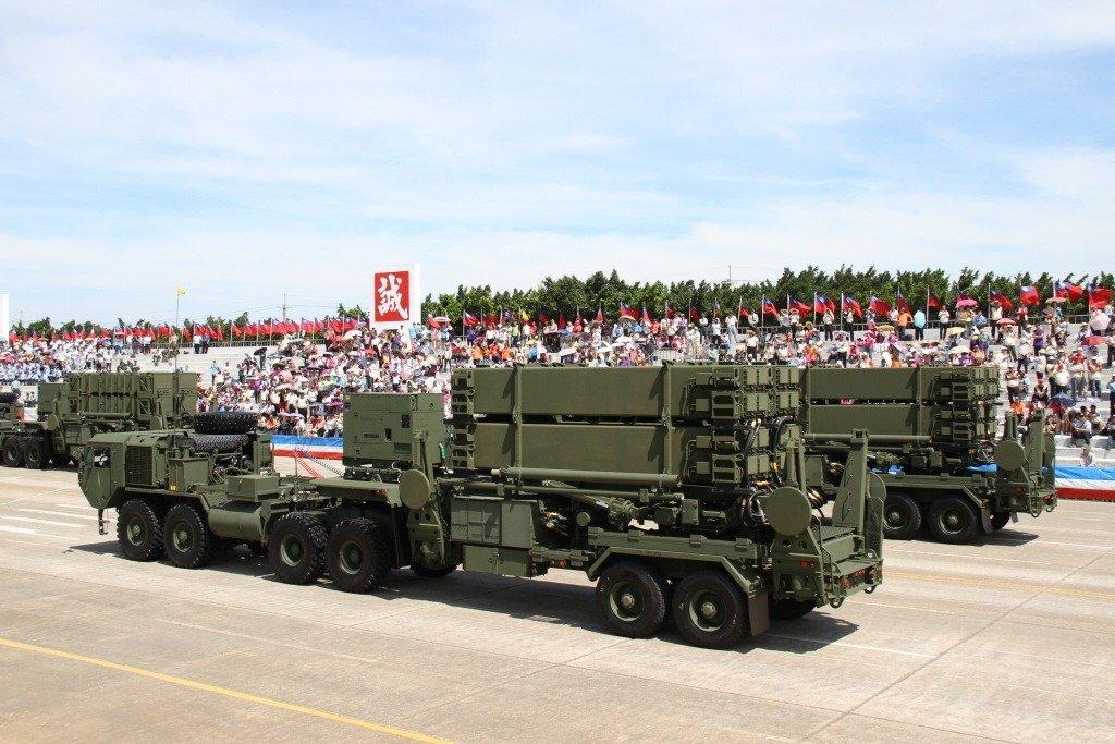 资料图:爱国者3型导弹发射车