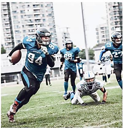 超级碗昨刷屏 杭州也有一支本土橄榄球队已有80多名成员
