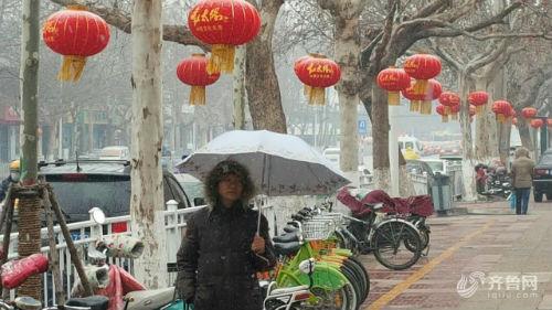 冷空气再袭山东 济宁今天迎小雨雪天气