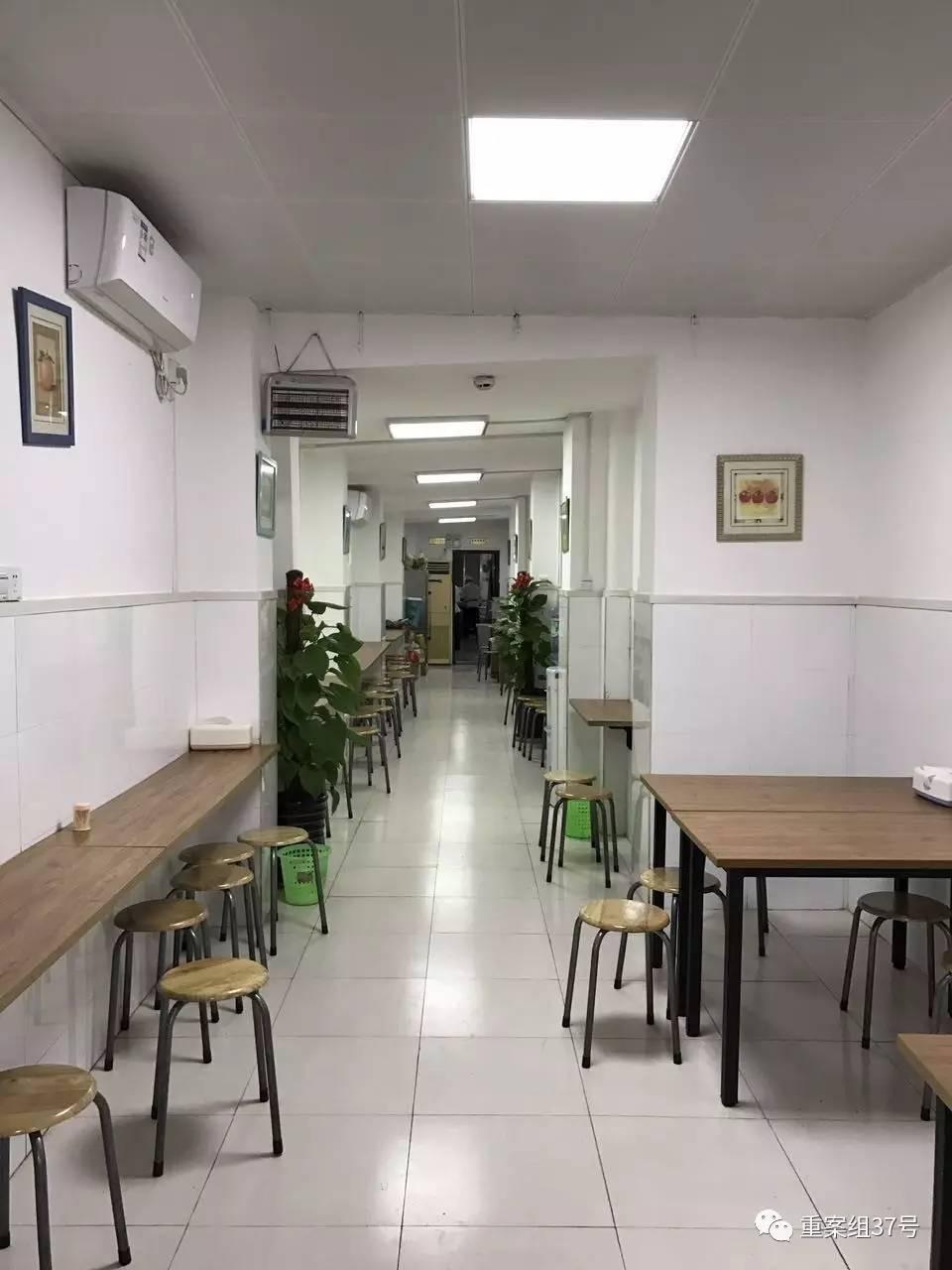 ▲廣西投資促進局食堂。新京報記者 賈世煜 攝