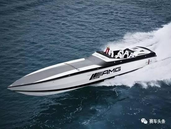 AMG可赛车,亦可赛艇!