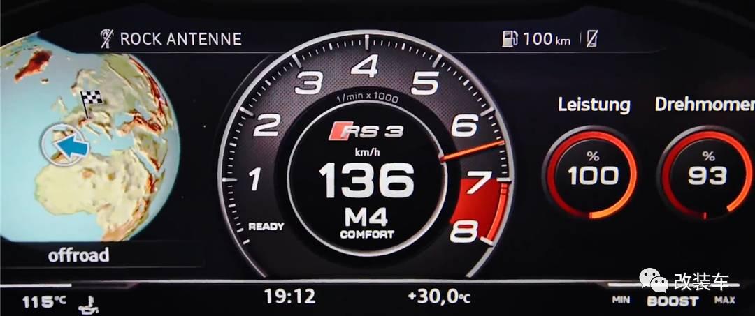 来辆百里加速4.1秒的RS3也能扮猪吃老虎