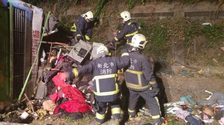救援人员赶赴现场抢救。