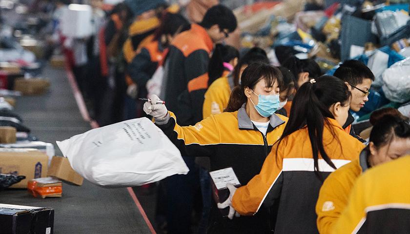 申通快递加盟制陷入困局:上海多网点爆仓|申通