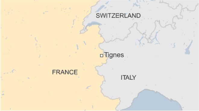 法国阿尔卑斯山Tignes滑雪场附近发生雪崩 至少4人死亡