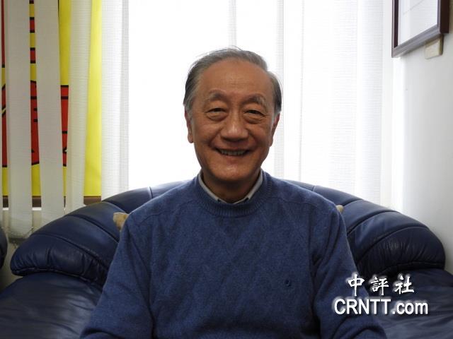 新党主席郁慕明(图片来源:中评社)