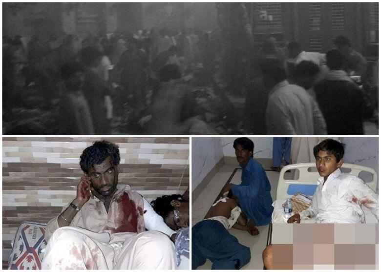 巴基斯坦一清真寺自杀式爆炸致至少100死 IS宣称负责