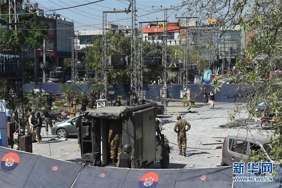 巴基斯坦拉合尔发生爆炸