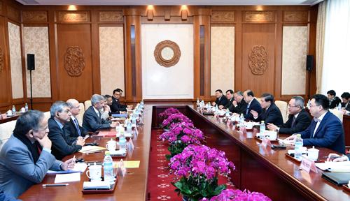 2月22日,中印战略对话在北京举行(外交部网站)