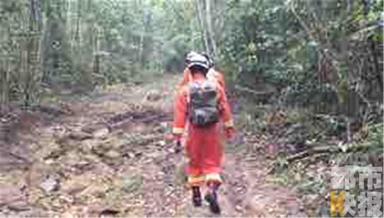 陕西驴友海南徒步失联 当地救援人员急寻家属