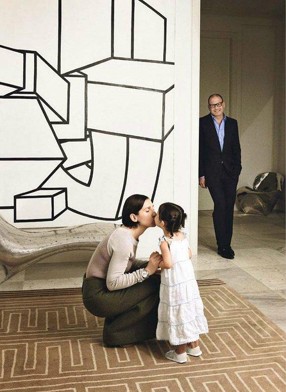 Reed Krakoff(后)和妻子一同布置的家居空间引来不少效仿者
