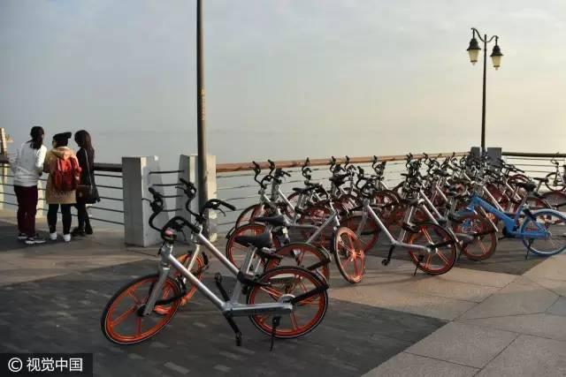 ▲共享单车(资料图,图片来源:视觉中国)