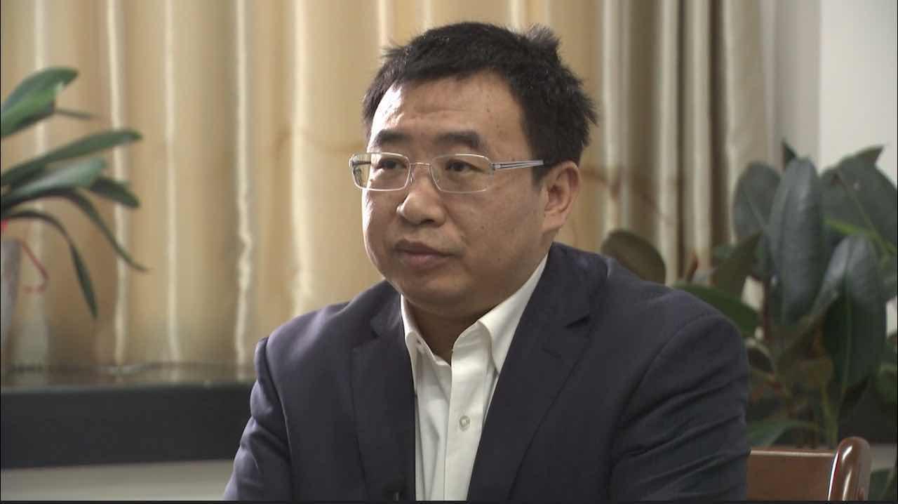 江天勇接受媒体采访