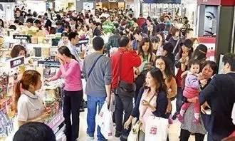 ▲中国游客提振韩国免税店