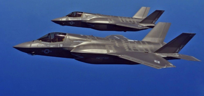 造价十分昂贵的美国F-35战机