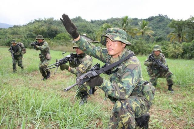 军_资料图:台军特种部队演习