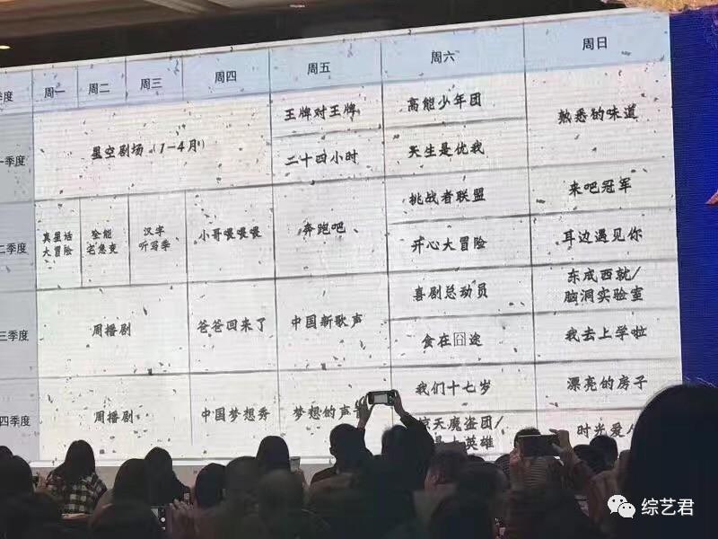 Boom料||浙江2017年节目编排!《爸回》回归了……