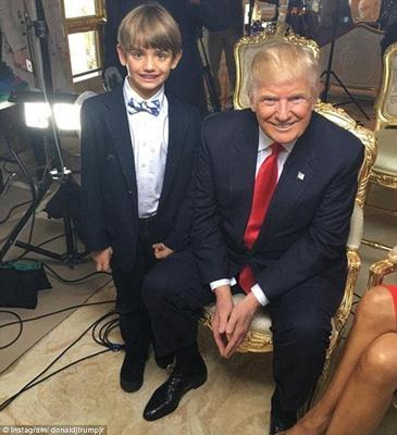 特朗普和長孫