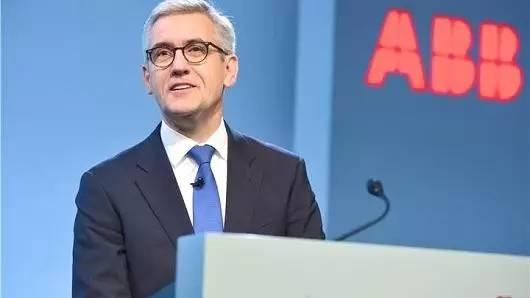 ▲ABB集團CEO史畢福(圖片來源:CNBC)