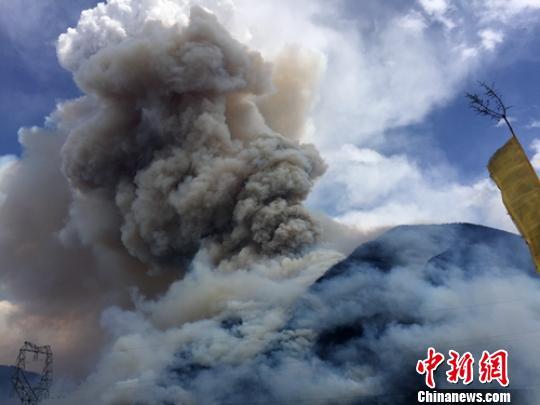 四川雅江县等地森林火灾启动应急预案四级响应
