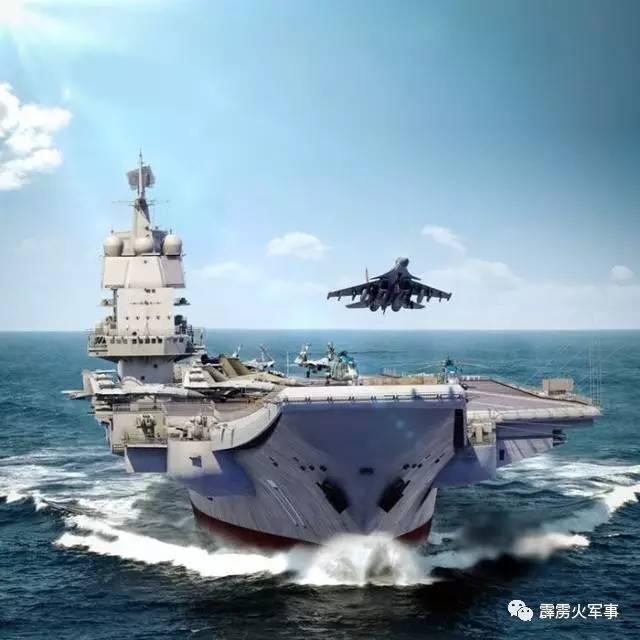 中国001A型航母究竟怎么了?最新照片让军迷振奋不已了