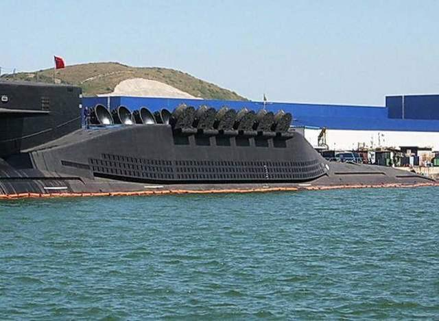 质疑中国的094型核潜艇?《汉和》称其仅为美苏60年代水平