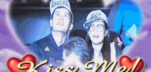 黄博文与妻子的爱情故事 现场观战NBA狂撒狗粮