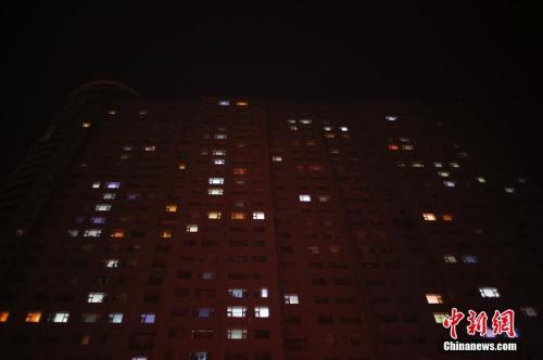 资料图:燕郊某居民楼。王骏 摄