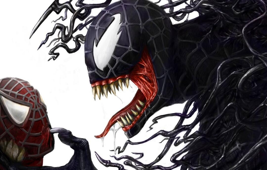 毒液和蜘蛛侠
