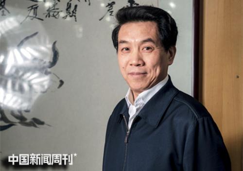 郑国光。摄影 | 《中国新闻周刊》记者 董洁旭