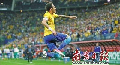 俄罗斯世界杯,巴西第一个来了