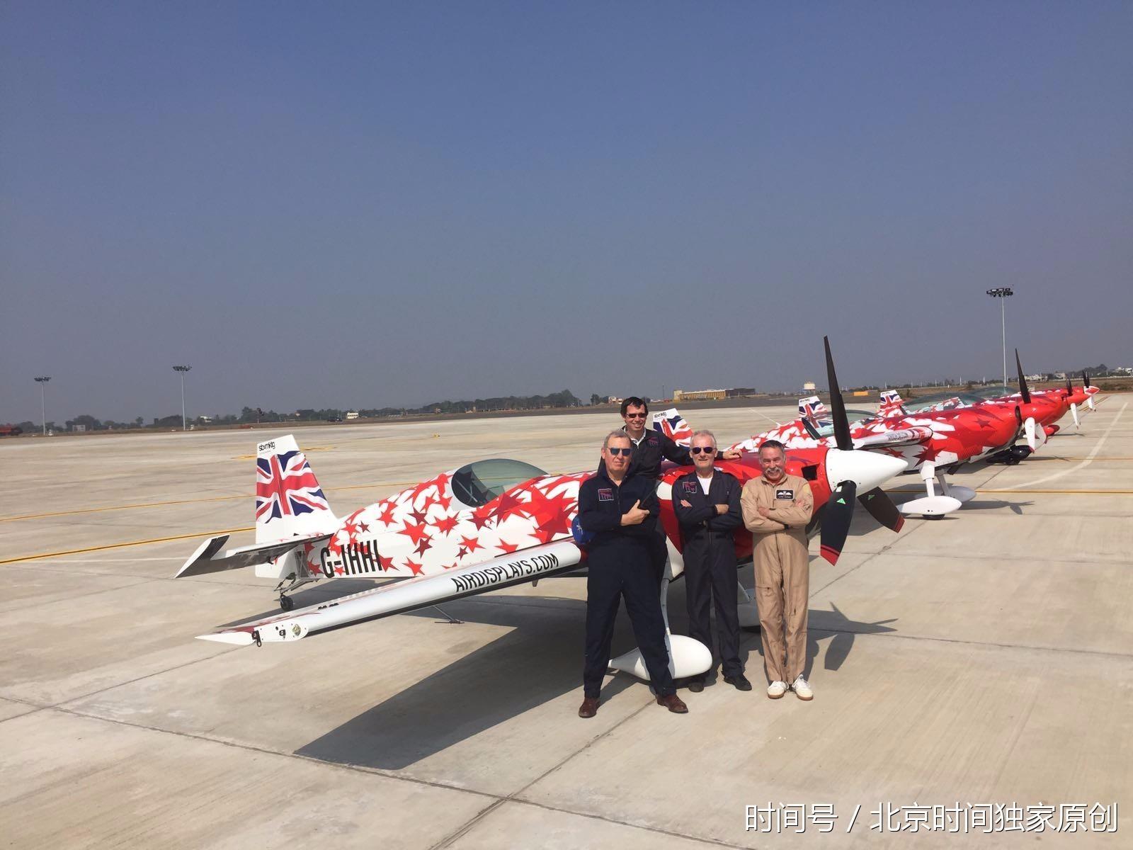 航展飞行表演的外籍飞机分别来自俄罗斯,英国,法国,意大利等11个国家