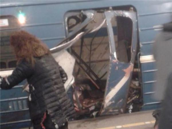 俄罗斯圣彼得堡地铁发生爆炸 至少10人死亡