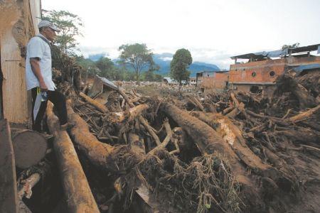 哥伦比亚突发泥石流 遇难人数升至234人