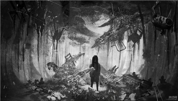 邪恶gif动态囹�a�d)_《生化危机7》艺术图公布 昏暗船舱阴森残破,潜藏邪恶
