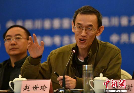北京大学历史系教授赵世瑜发言。 刘忠俊 摄