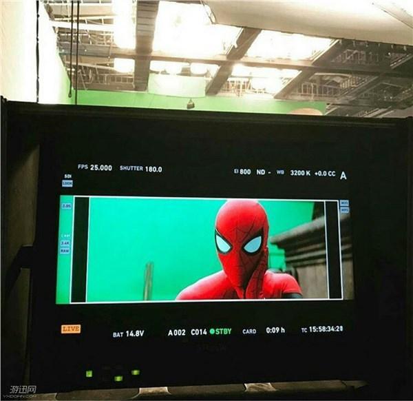 《蜘蛛侠:归来》新片场照 不加特效的小虫表情太魔性