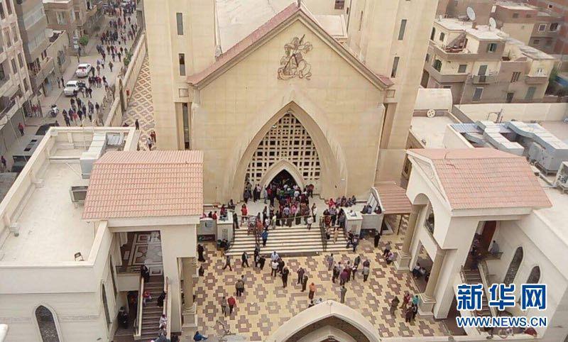 埃及一所教堂发生爆炸至少21人死亡