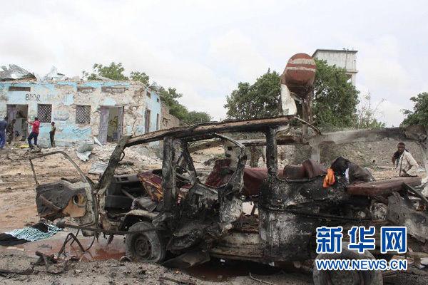 索马里发生自杀式汽车爆炸造成至少10人死亡
