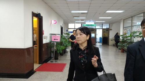 资料图:周玉寇出庭。台湾《联合报》记者苏位荣/摄影