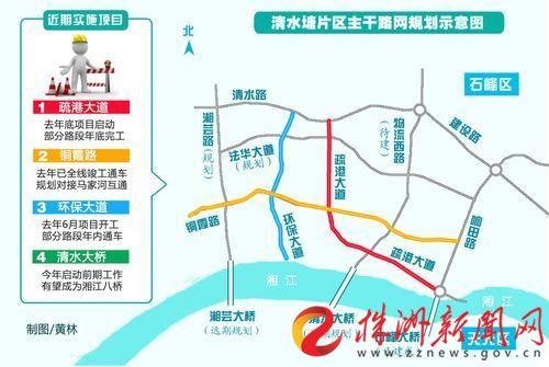 万州石峰路片区规划图