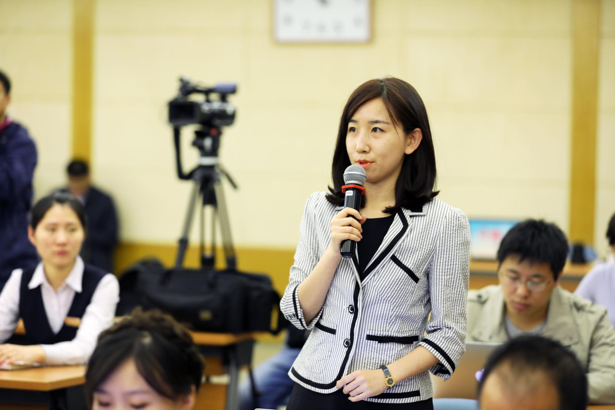 第一财经记者董鑫提问