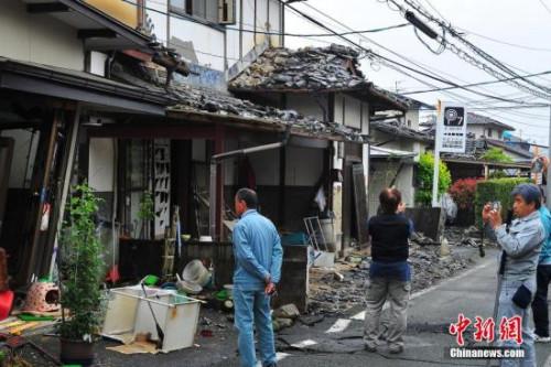 日本举办熊本地震周年祭 首相安倍晋三等出席
