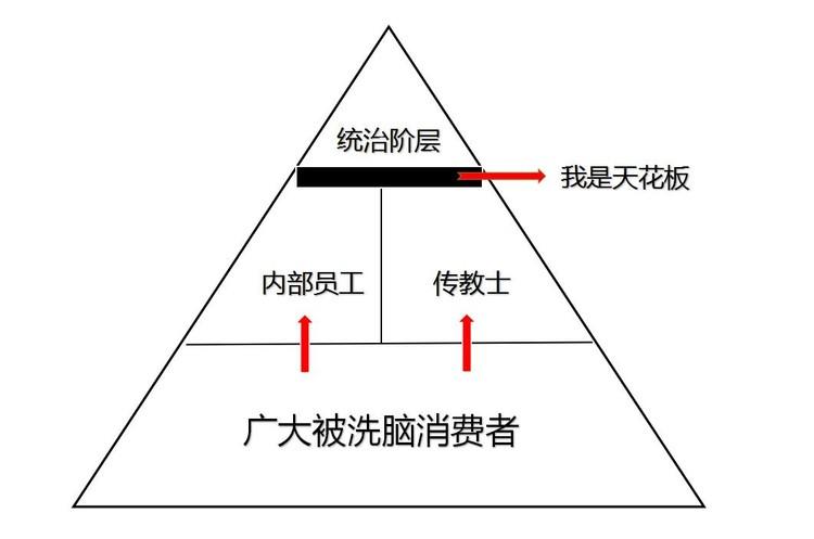 (金字塔图,模型来自高德的《洗脑术》)
