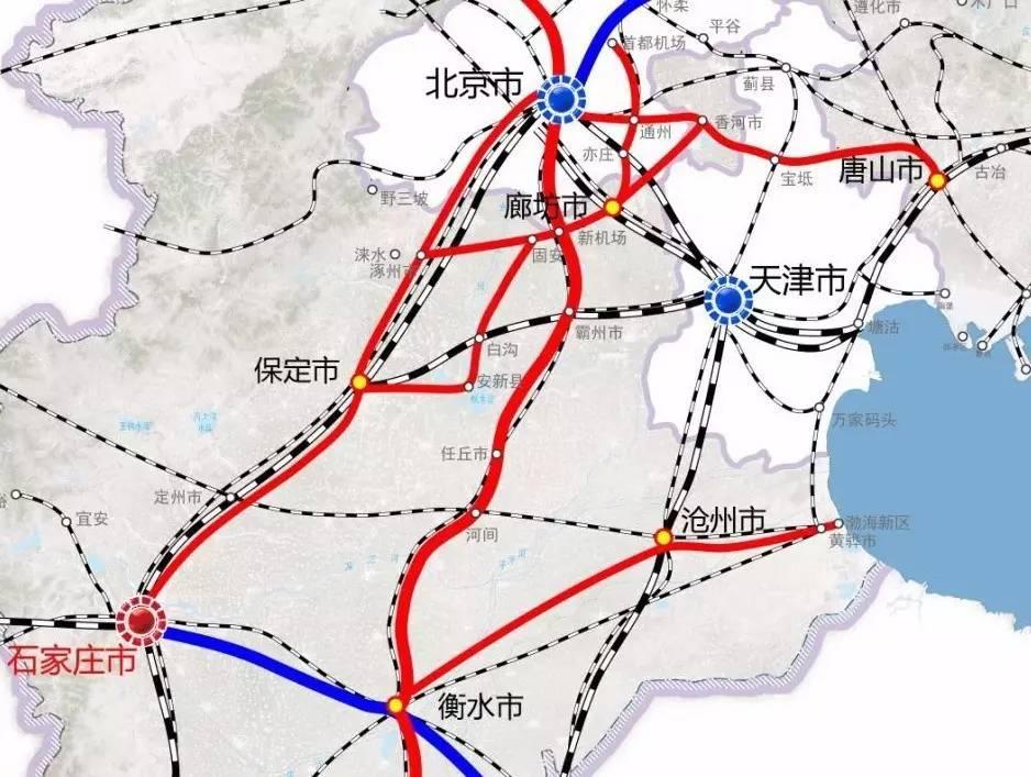 铁路总公司正式提出雄安新区铁路建设发展规划