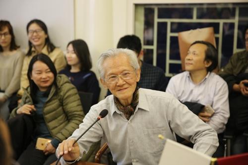 著名书画理论家傅申教授访问北京大学人文社会